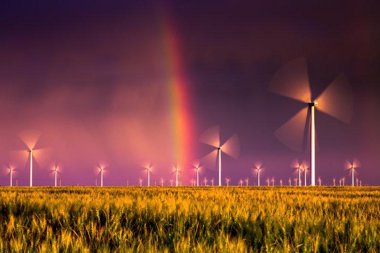 اروپا میتواند انرژی کل جهان را با باد تامین کند